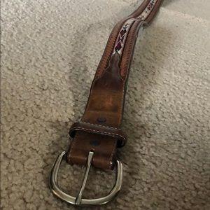 Sliver creek classics rodeo belt
